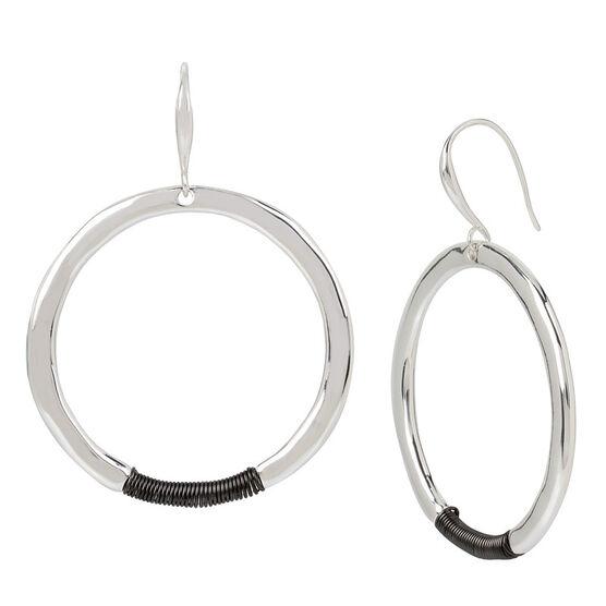 Robert Lee Morris Round Hoop Earrings - Multi