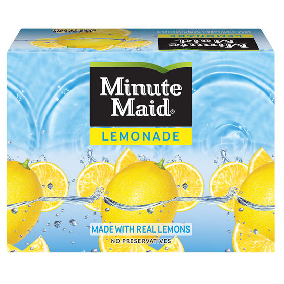 Minute Maid Lemonade - 12 x 341ml