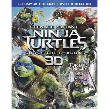 Teenage Mutant Ninja Turtles: Out Of The Shadows - 3D Blu-ray