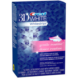 Crest 3D White Whitestrips - Gentle Routine - 28's