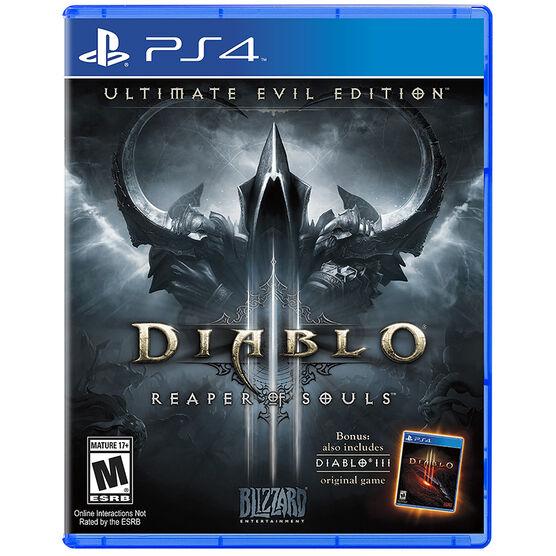 PS4 Diablo III Ultimate Evil