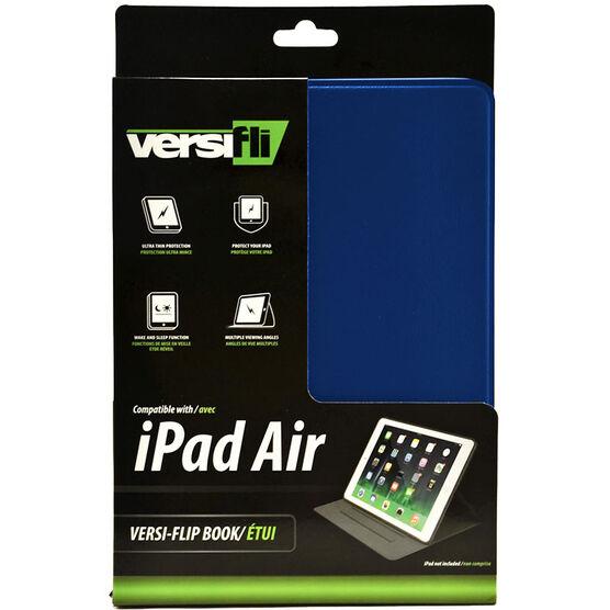 Versifli Versiflip For iPad Air - Blue - FLI-5031BL