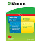 Intuit QuickBooks Desktop Pro 2017 with Payroll - English Accounting Software