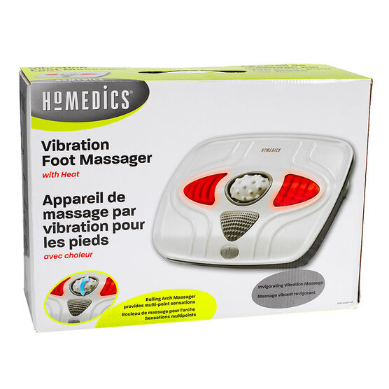 Homedics Vibration Foot Massager with Heat - FMV-400H-CA