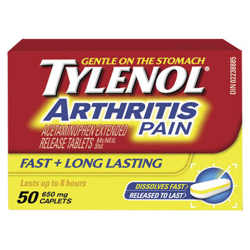 Tylenol* Arthritis Pain Extended Relief - 50's