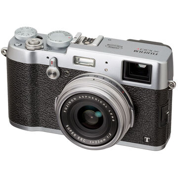 Fujifilm X100T with 23mm Lens - Silver - 600013937