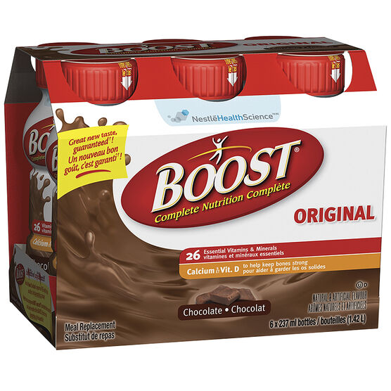 Boost Chocolate Drink - 6 x 237ml