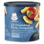 Gerber Graduates for Toddlers Lil' Crunchies - Apple Sweet Potato - 42g