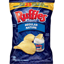 Ruffles Potato Chips - Regular - 245g