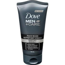 Dove Men+Care Sensitive+ Face Wash - 148ml
