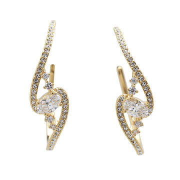 Eliot Danori Padma Earrings - Gold