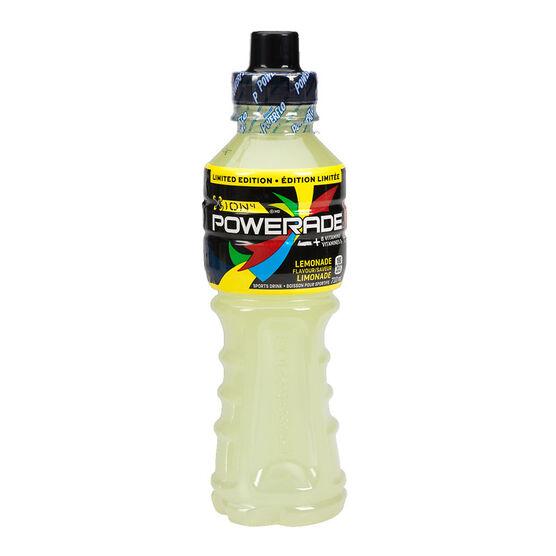 Powerade Ion4 Sports Drink - Lemonade - 710ml