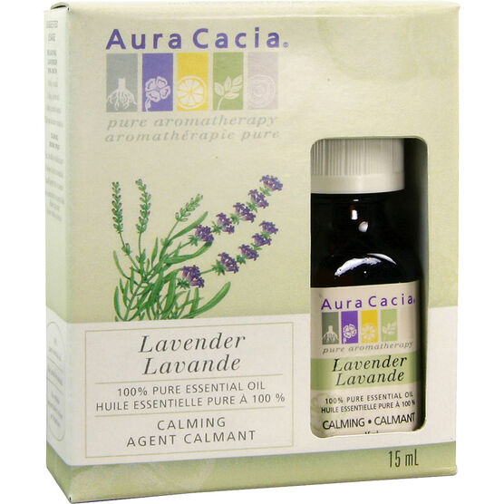 Aura Cacia Lavender Oil - 15ml
