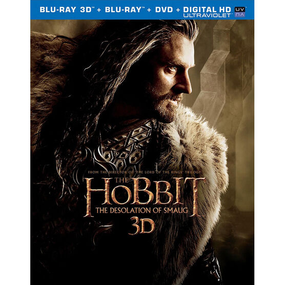 The Hobbit: The Desolation of Smaug 3D - 3D Blu-ray