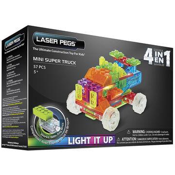 Laser Pegs 4 in 1 Mini Trucks