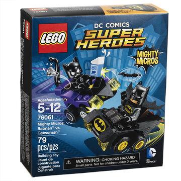 Lego Super Heroes - Mighty Micros Batman vs Catwoman