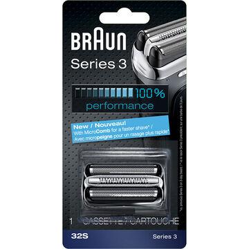 Braun 32S/Series 3-370 Replacement Head