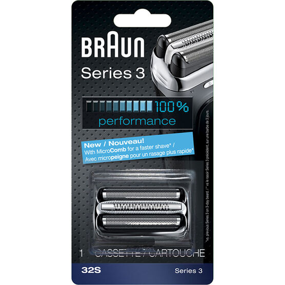 Braun 32S/Series 3-370 Replacement Head