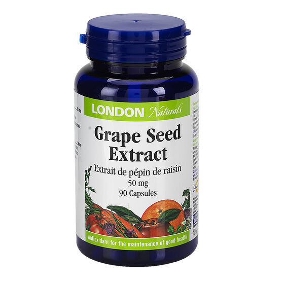 London Naturals Grapeseed Extract 50mg - 90's