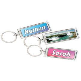 Personalized Solar Keychain - Assorted