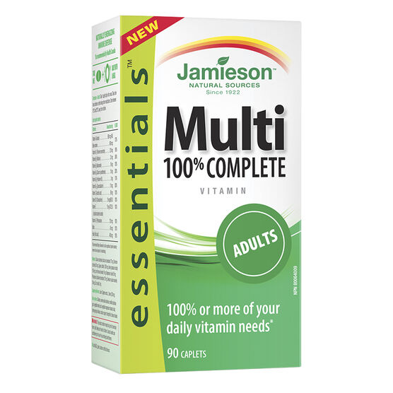 Jamieson Multi 100% Complete Vitamin - Adults - 90's