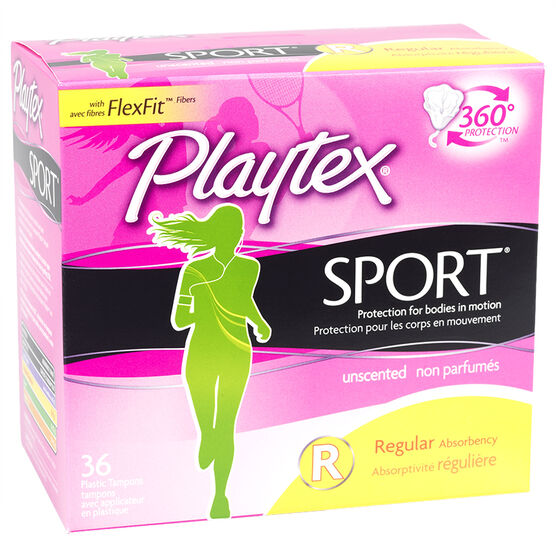 Playtex Sport - Regular - Unscented - 36's
