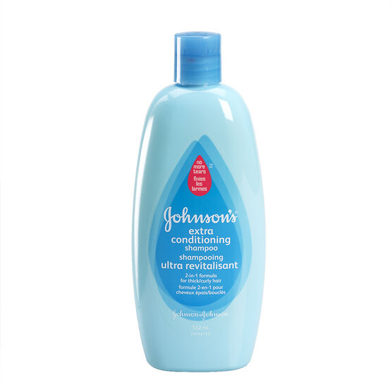 Johnson & Johnson 2 in 1 Extra-Conditioning Shampoo & Conditioner - 532ml