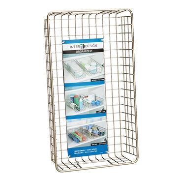InterDesign Wire Basket - Satin - 90225