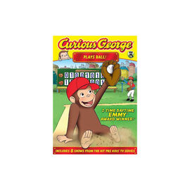 Curious George: Plays Ball! - DVD