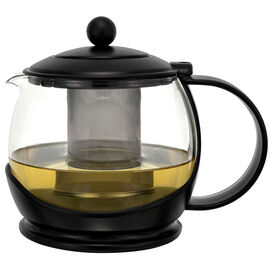 Teapot Glass - Black - 1200ml