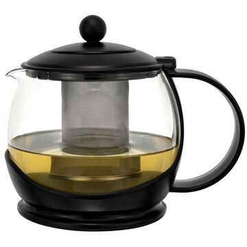 Teapot Glass - Black - 1200ml