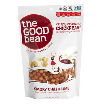 The Good Bean Snack - Chickpeas - Smoky Chili & Lime - 170g