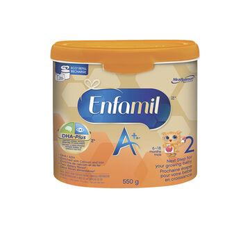 Enfamil A+ 2 Powder Tub - 6-18 months - 550g