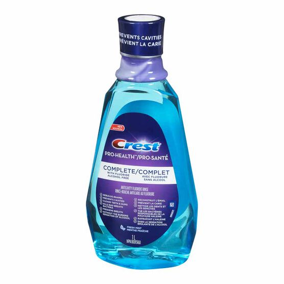 Crest Pro-Health Complete Rinse - Fresh Mint - 1L