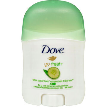 Dove Go Fresh Anti-Perspirant Stick - Cool Essentials - 14g
