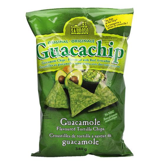 El Sabroso Guacachip Tortilla Chips - Original - 340g