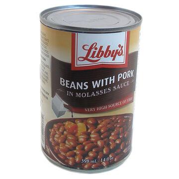 Libby's Beans - Pork Molasses - 398ml