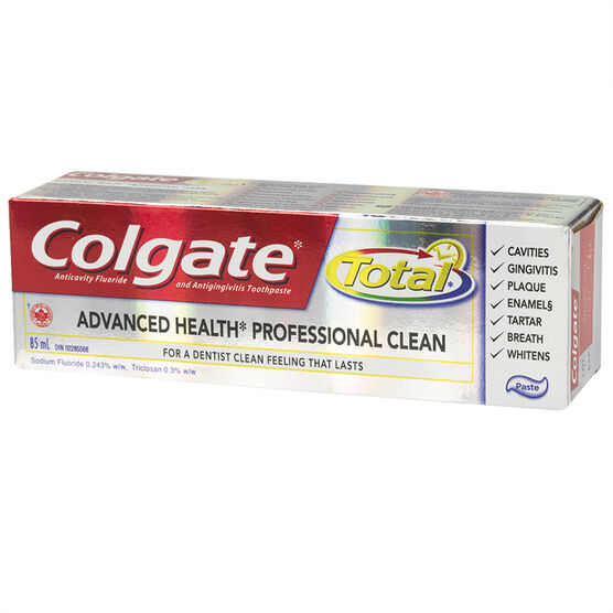 Colgate Total Advanced Health Toothpaste - 85ml