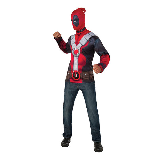 Halloween Deadpool T-shirt Costume