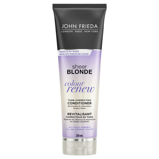 John Frieda Sheer Blonde Colour Renew Tone-Refreshing Conditioner - 250ml