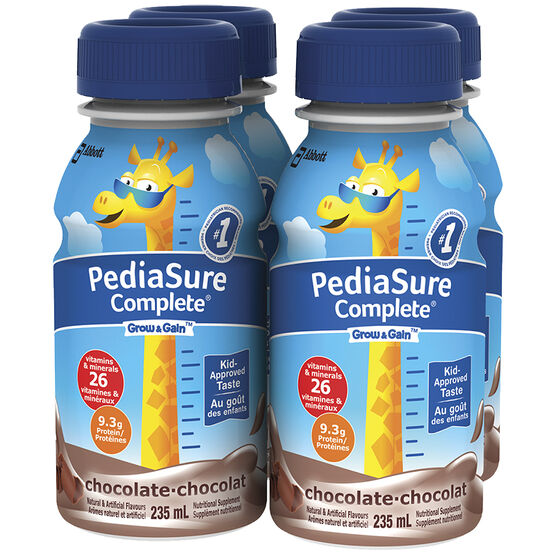 PediaSure Complete - Chocolate - 4 x 235ml