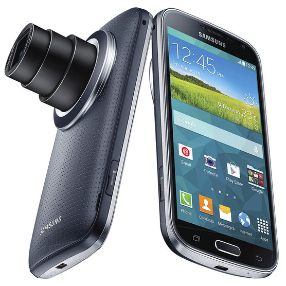 Samsung Galaxy KZoom - Black - SMC115WZKAR