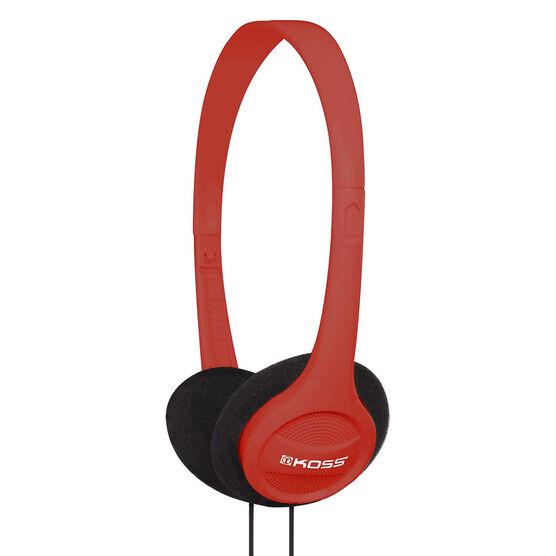 Koss On-Ear Headphones - Red - KPH7R