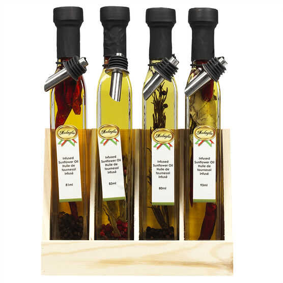 Medaglio Infused Oil Set - 9 Piece
