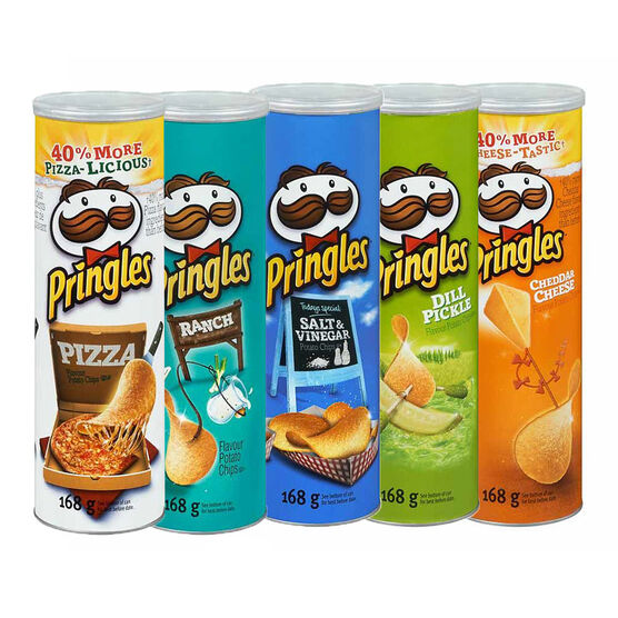 Pringles Potato Chips - 168g