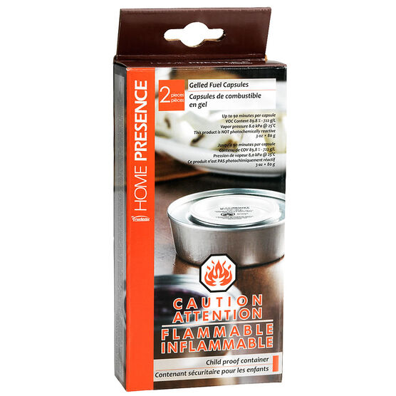 Home Presence Gel Fuel Capsules - 2 pack
