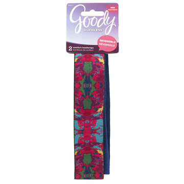 Goody Ouchless Reversible Headwraps - 8607