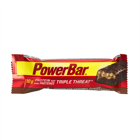 PowerBar Triple Threat - Chocolate Caramel Fusion - 53g