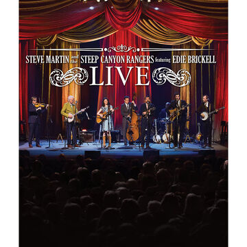 Steve Martin and the Steep Canyon Rangers featuring Edie Brickell: Live - Blu-ray