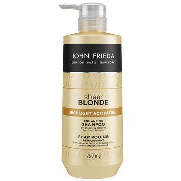 John Frieda Sheer Blonde Highlight Activating Shampoo - 750ml